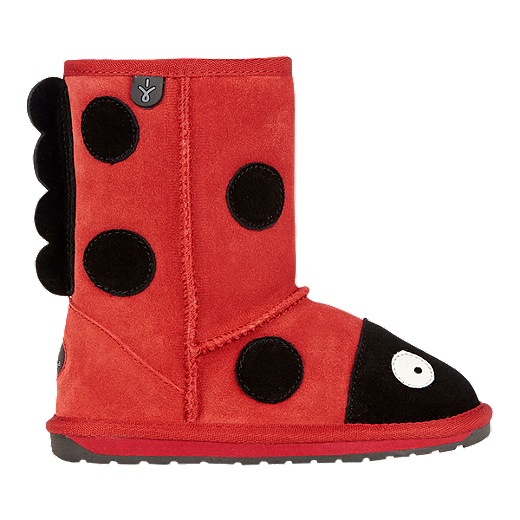758fb3d205e18 Emu Girls' Creatures Lamb Preschool Winter Boots - Ladybird | Sport Chek