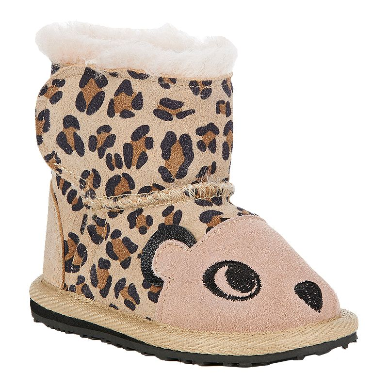 248b9ba259f97 Emu Toddler Girls' Creatures Winter Boots - Cheetah (809996636305) photo