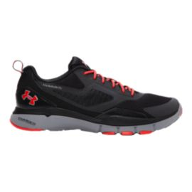 Under Armour Men's Charged One TR Training Shoes - Black/Red/Grey