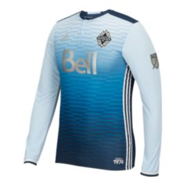 Vancouver Whitecaps Long Sleeve Home Jersey - White