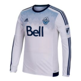 Vancouver Whitecaps Long Sleeve Away Jersey - Navy