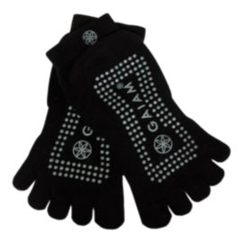 GAIAM Super Grippy Yoga Socks - Black