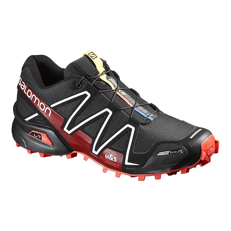 dd5c3f3a4a1 Salomon Men's SpikeCross 3 CS Trail Running Shoes - Black/Red | Sport Chek