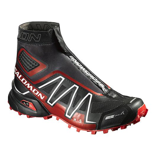 en soldes db4b5 6aea0 Salomon Men's SnowCross 3 CS Trail Running Shoes - Black/Red ...