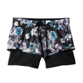 adidas Stella McCartney Run Floral All Over Print 2N1 Women's Shorts