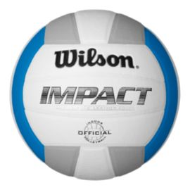 Wilson Impact Volleyball - White/Blue