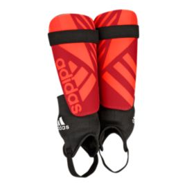 adidas Ghost Club Shinguards - Vivid Red/Solar Red