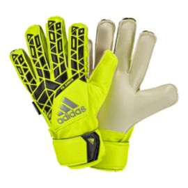 adidas Ace Fingersave Junior Goalkeeper Gloves - Solar Yellow