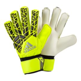 adidas Ace Fingersave Replique Goalkeeper Gloves - Solar Yellow/Black