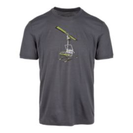 Icebreaker Men's Chair Lift Short Sleeve T Shirt