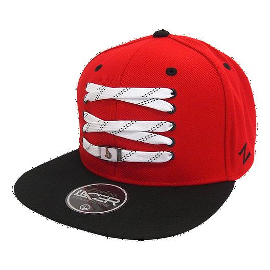 ed7a8707f8b Ottawa Senators Skate Lacer Flatbrim Snapback Cap