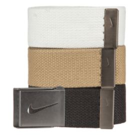 Nike Golf Web Belt-3-Pack