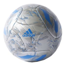 adidas Messi Mini Soccer Ball - Silver Metal/Shock