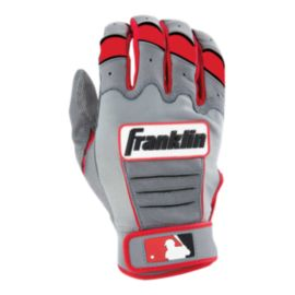 Franklin CFX Pro Batting Glove - Grey/Red