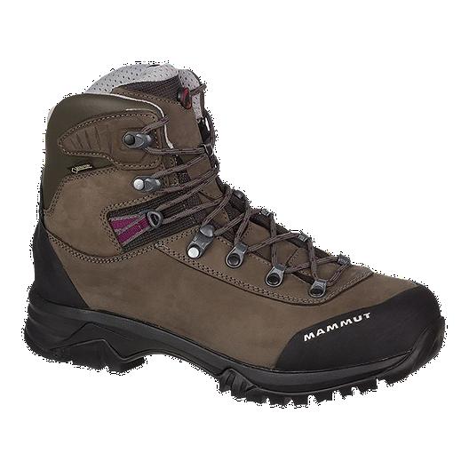 7019b9829efd9f Mammut Women s Trovat Advanced High GTX Hiking Boots - Bark Grey ...