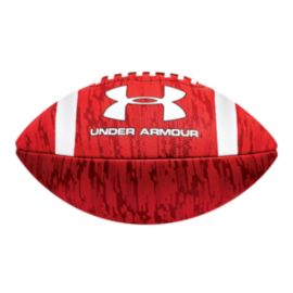 Under Armour Adult Dissolve Football - Red