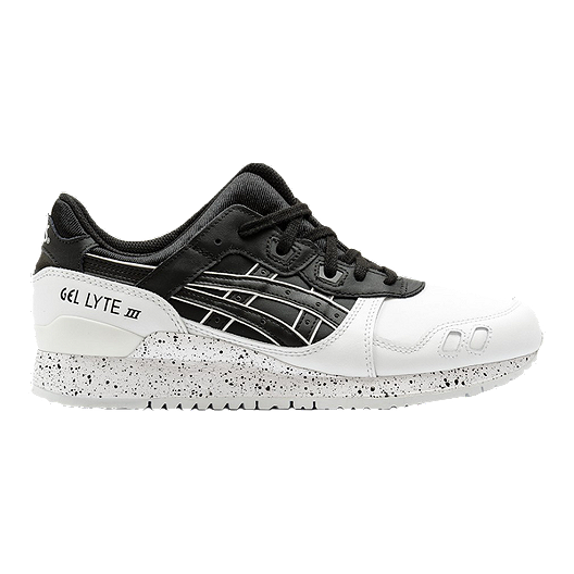 premium selection 5e1ff ae35d ASICS Men's GEL-Lyte III Shoes - White/Black