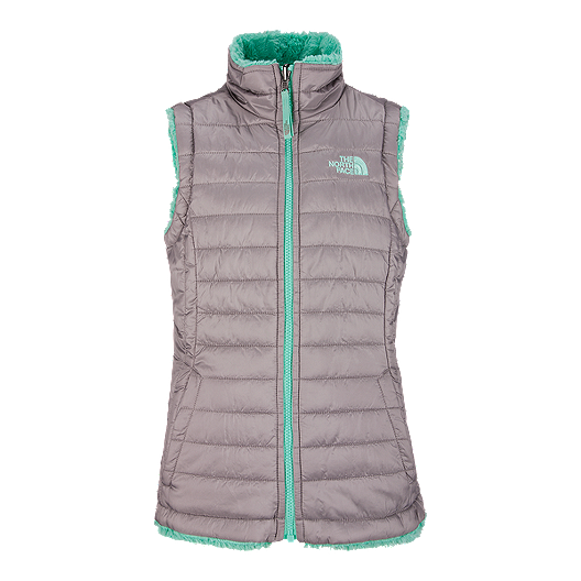 c134beeb2d4 The North Face Girls  Reversible Mossbud Swirl Vest
