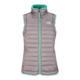 The North Face Girls' Reversible Mossbud Swirl Vest