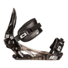 K2 Sonic Snowboard Bindings 2016/17 - Transparent Black