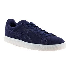 PUMA Men s Suede Classics Shoes - Blue White 1fec82814
