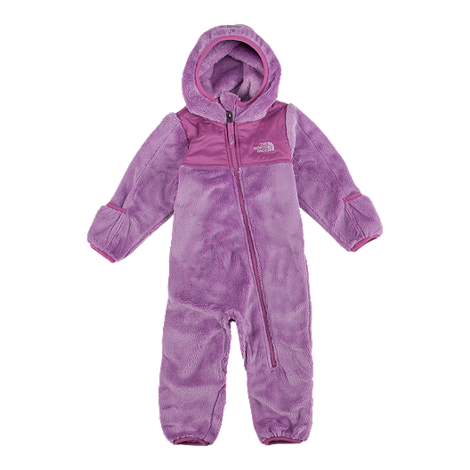91fc249c0581 The North Face Baby Girls  Oso One Piece Fleece Snowsuit
