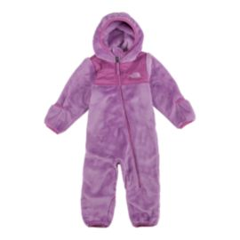 The North Face Baby Girls' Oso One Piece Fleece Snowsuit