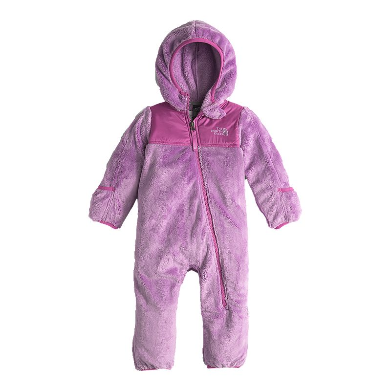 The North Face Baby Girls' Oso One Piece Fleece Snowsuit (190851551322) photo