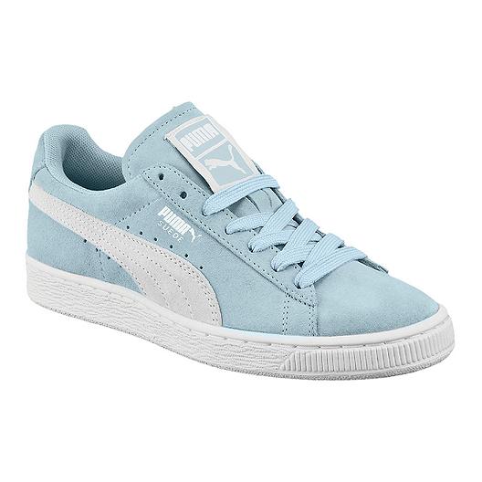 PUMA Women's Suede Classic Shoes BlueWhite | Sport Chek