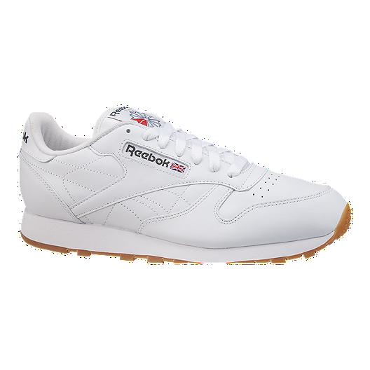 1e08eecdc47a Reebok Men s Classic Leather Shoes - White