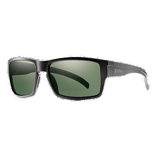 c121bda93a2 Smith Outlier XL Polarized Sunglasses- Matte Black with ChromaPop Gray  Green Lenses