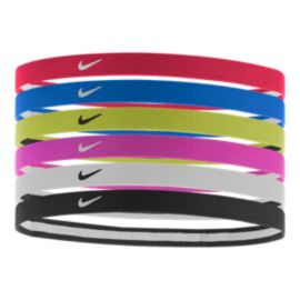 Nike Swoosh Sport Girls' Headbands - 6 Pack