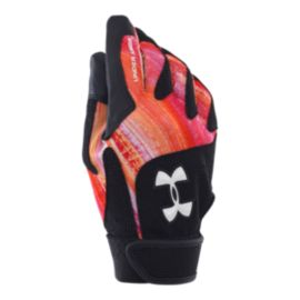 Under Armour Radar Women's Softball Glove - Cyber Orange
