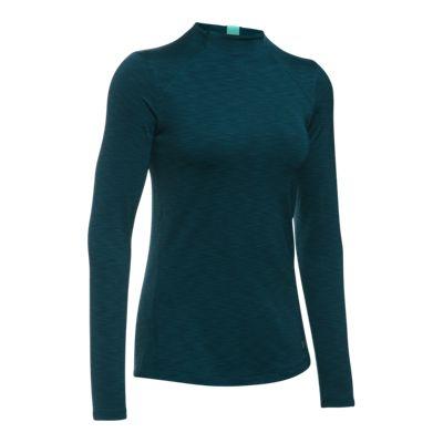 Under Armour Women's Armour ColdGear Mock Long Sleeve Shirt