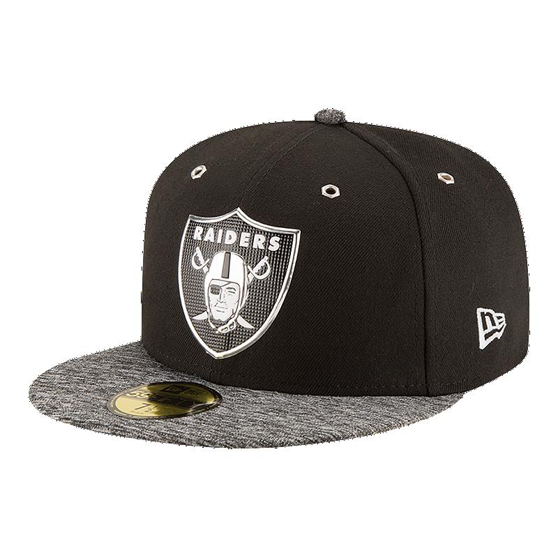 Oakland Raiders 2016 59FIFTY Draft Cap  576ce87e8