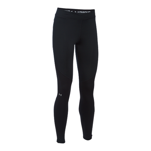 205cc646b9fe0c Under Armour Women's Armour ColdGear Elements Storm Tights - 001 BLACK /REFLECTIVE