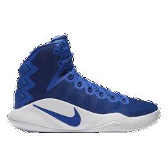 Nike Women s Hyperdunk 2016 Basketball Shoes - Royal White  b70a9e770f