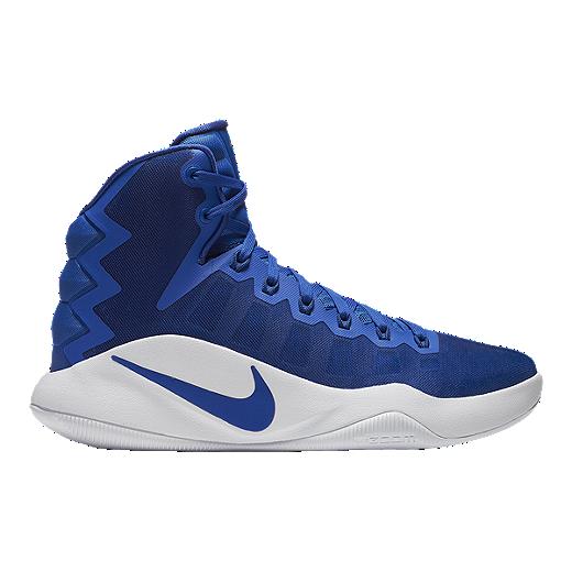 detailed look 45e82 ea272 Nike Women s Hyperdunk 2016 Basketball Shoes - Royal White   Sport Chek