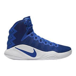 promo code a30f2 98ebf Nike Women s Hyperdunk 2016 Basketball Shoes - Royal White