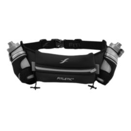 Fitletic Hydration Belt 16 oz - Large Grey