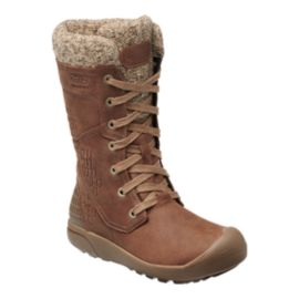 Keen Women's Freemont Lace Tall Waterproof Winter Boots - Whiskey