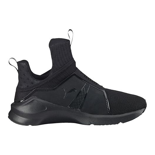 new styles c4915 0296a PUMA Women's Fierce Core Shoes - Black/Black