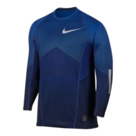 Nike Pro Hyperwarm Hexodrome Men's Reflective Long Sleeve Top