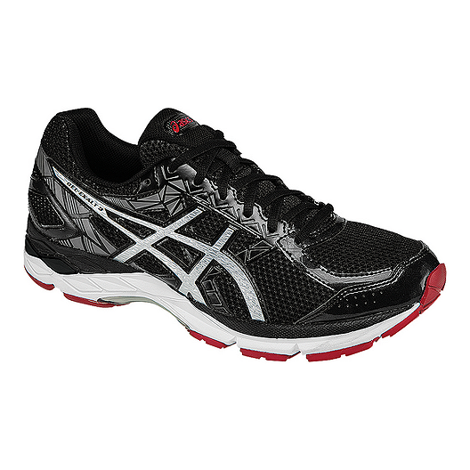 2be31cd3f7f ASICS Men's Gel Exalt 3 Running Shoes - Black/Silver | Sport Chek