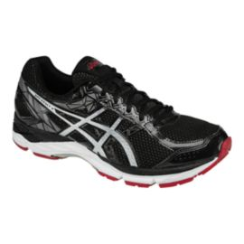 ASICS Men's Gel Exalt 3 Running Shoes - Black/Silver