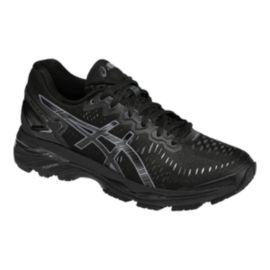 ASICS Women's Gel Kayano 23 Running Shoes - Black/Grey