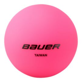 Bauer Hydrog Cool Weather Pink Hockey Ball