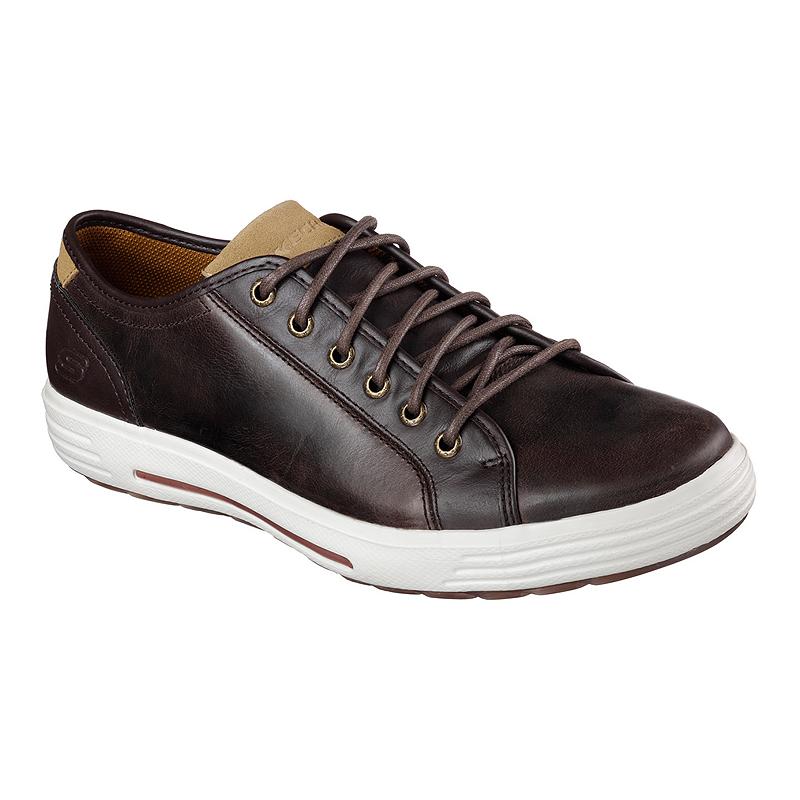 Skechers Porter Leather Men S Casual Shoes Sport Chek