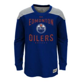 Edmonton Oilers Birthright Long Sleeve Youth Crew Top