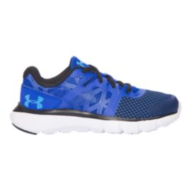 Under Armour Kids' Shift RN Preschool Running Shoes - Blue/Black
